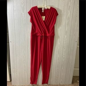 Rolla Coster Red Jumpsuit Size Small